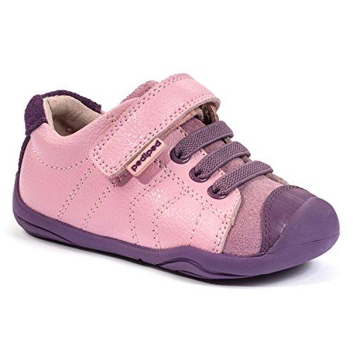 pediped Grip N Go Jake Casual Sneaker (Big Kid), Pink, 20 EU (5 E US Big - Toddler Jake