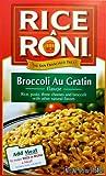 Rice-A-Roni BROCCOLI AU GRATIN Flavor 6.5oz (10 pack)