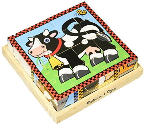 Melissa & Doug Farm Cube Puzzle (Melissa & Doug Farm Cube)