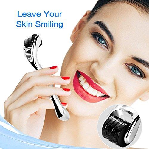 540 Titanium Micro Needles   Skin & Face Care   Massage Tools Professional (Silver/Titanium) ()