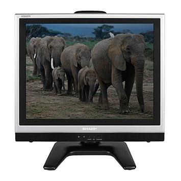 sharp 20 inch tv. sharp lc-20s2us 20-inch aquos flat-panel lcd tv, silver 20 inch tv