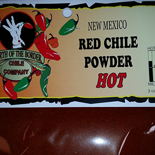 New Mexico Red Chile Powder HOT (New Mexico Red Chile Sauce From Powder)