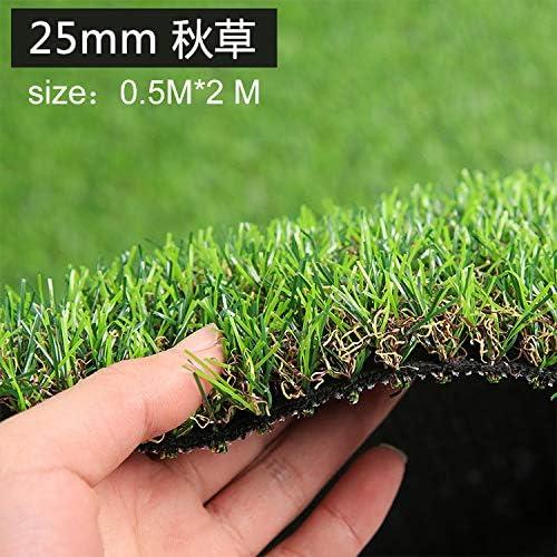 Maceta de césped artificial para jardín de la marca Bureze, color verde: Amazon.es: Jardín