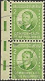 1941 Apple-Hued 2c Commonwealth of the Philippines