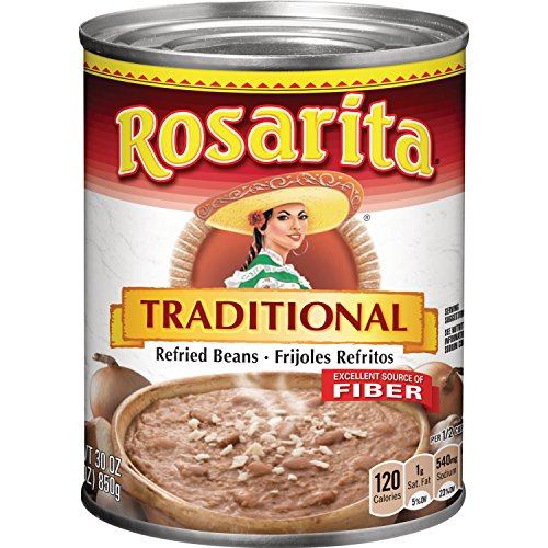 (Rosarita Traditional Refried Beans, 30 oz)