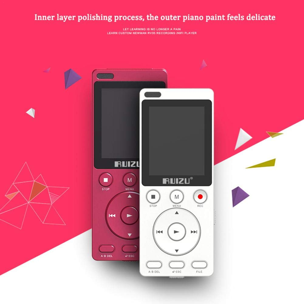 Gereton MP4 English Listening Player 8GB Built-in High Capacity Learning Machine Student Recorder Repeatable Shift Multifunction MP3 by Gereton (Image #3)
