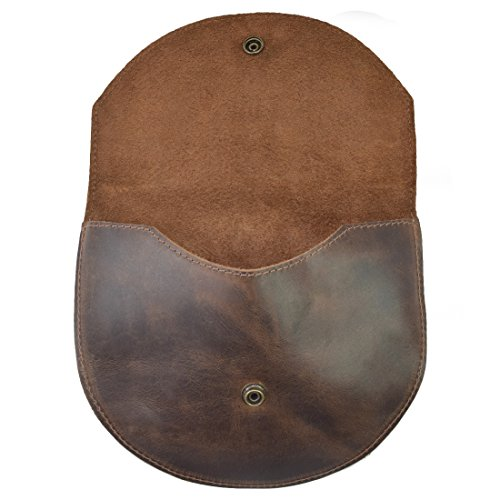 Durable Leather Two In One Hip and Shoulder Bag Handmade by Hide & Drink :: Bourbon - Purse Leather Handmade