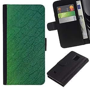 ZONECELL Imagen Frontal Negro Cuero Tarjeta Ranura Trasera Funda Carcasa Diseño Tapa Cover Skin Protectora Case Para Samsung Galaxy Note 4 SM-N910 - patrón simple 27