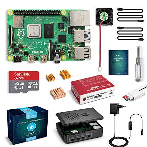 LABISTS Raspberry Pi 4 Model B 4GB RAM Starter Kit