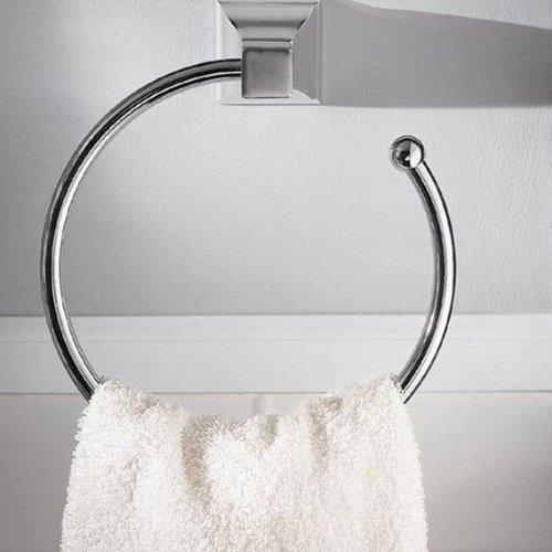 American Standard 2555.021.068 Town Square 7-Inch Diameter Towel Ring, Blackened Bronze by American Standard (Image #2)