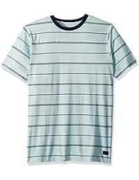 Men's Die Cut Stripe Short Sleeve Tee