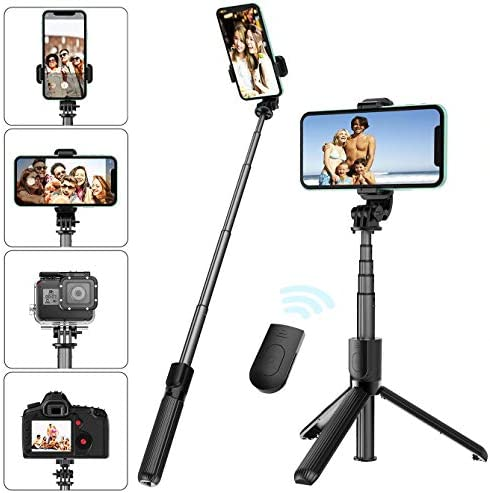 Tige de rallonge Selfie Stick Support de poign/ée prolong/é avec Manche 1//4 vis pour stabilisateur DJI Ronin S stabilisateur 3 Axes pour cam/éra portative en Fibre de Carbone Portable
