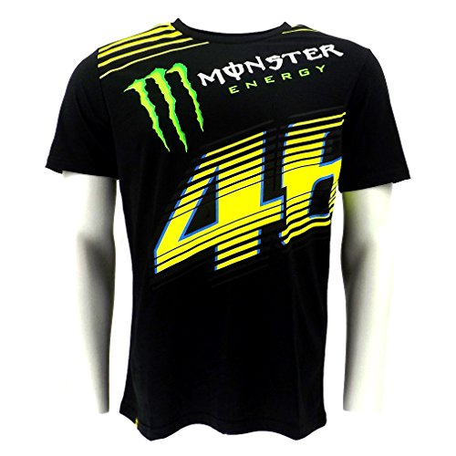 Valentino Rossi VR46 Monster Energy Monza 2 T-shirt Official New