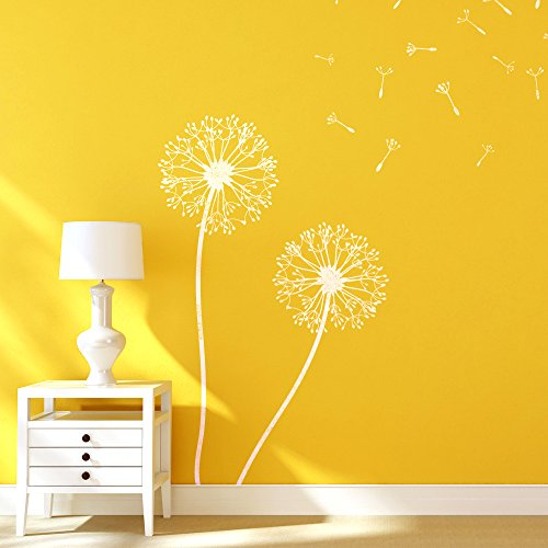 J BOUTIQUE STENCILS Dandelion Flower Stencils for Wall art DIY decor just like Wallpaper