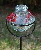 Parasol Pot de Creme Staked Hummingbird Feeder, Clear, 8 oz. For Sale