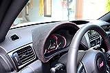 Subaru Impreza 2008-11 complete reupholstered gauge hood by RedlineGoods