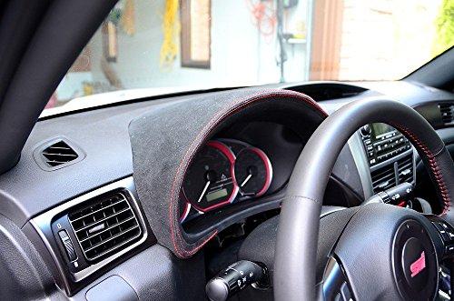 Subaru Impreza 2008-11 complete reupholstered gauge hood by RedlineGoods by RedlineGoods