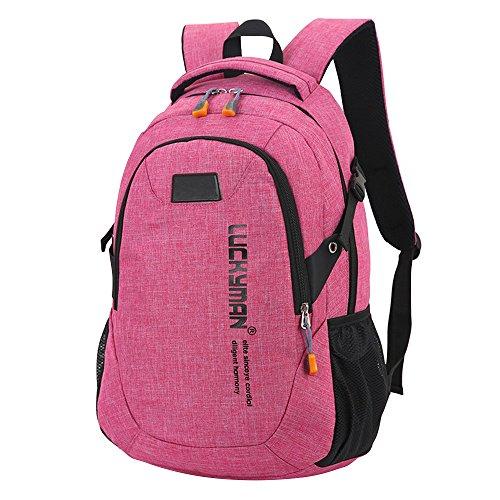 Designer Kanpola Rose Bags Backpacks Bag Canvas Backpack Laptop Unisex Student Black Red Travel 8Pxr8Og