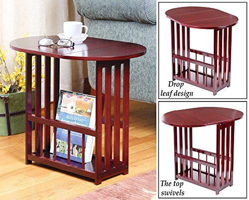 Price comparison product image Mission Style Wood Drop Leaf Table