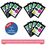 Safe-O-Kid Pack of 72(+6 Free) ASSORTED SPORT & ANIMALMosquito Repellent Patches