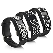 BillionPair Fitbit Charge / Charge HR Bands Cover, Silicone, Personalized Slim Design Sleeve Protector Accessories, Fit for Both Small and Large Size Bands
