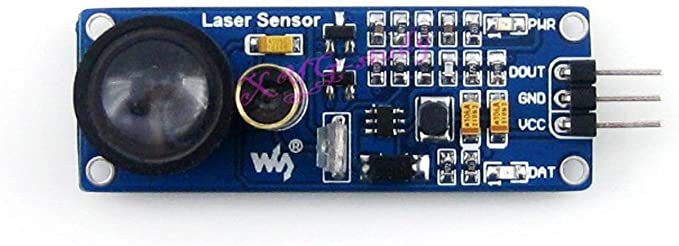 waveshare Laser Sensor Detector Module Receiver Transmitter Compatible Arduino AVR PIC STM32 Application for Obstacle Detection Pipeline Counter Smart Robot Obstacle-Avoiding Car