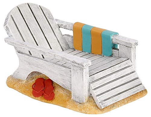 Saturday Knight Seaside Blossoms Beach Chair Soap Dish One Size White/yellow/blue/red