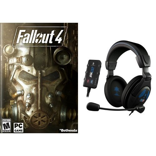 Fallout 4 - PC and Turtle Beach - Ear Force PX22 - FFP Gaming Headset Bundle (Px22 Turtle Beach)