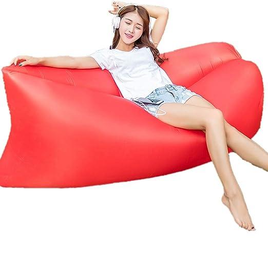 YUEZHANG Sofa Hinchable,Saco De Dormir Inflable Rápido para La ...