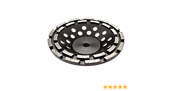 Thinset Removal Bit 7 In Double Row Diamond Grinding Cup Amazon Com