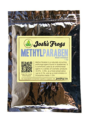 Methyl Paraben (1 lb / 453 grams) by Josh's Frogs