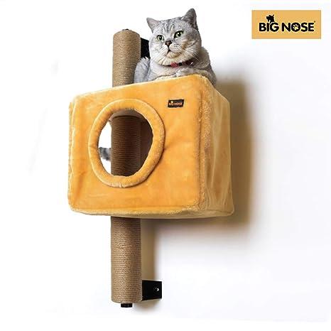 Amazon.com: Big Nose - Casa de árbol para gatos de pared ...