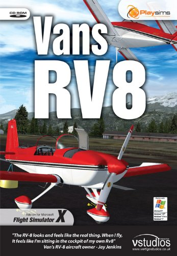 Vans RV8 & RV8a for FSX [PC-CD]