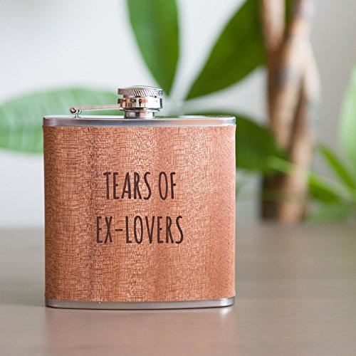 Tears Ex Lovers Funny Flask Stainless