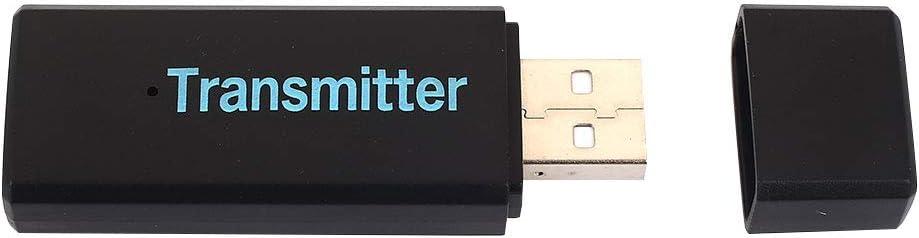 Gulin USB 3.0 Audio EDR Transmisor inalámbrico, para TV PC Xbox PS4 MP3 / MP4 Home Stereo, Par de parlantes para Auriculares: Amazon.es: Electrónica