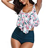 Bikini 2 Piece for Women Swimsuit Swimming Costume Plus Size Bikini Sets Tummy Control Swimwear 2019 Best