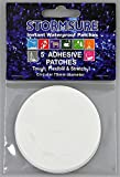 Stormsure 10x Stretchy Circular Self Adhesive Patches Glue 75mm Dia Pk5 TUFF5X75