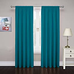 PAIRS TO GO Cadenza Microfiber Window Panel (Set of 2), 80\