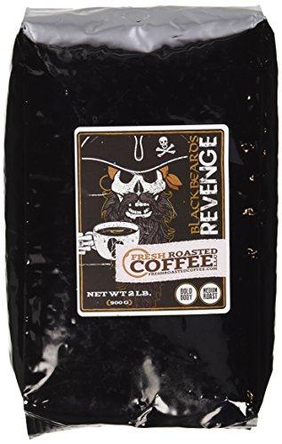 2 Lb. Bag, Blackbeard's Revenge, Whole bean coffee, Fresh Roasted Coffee LLC.