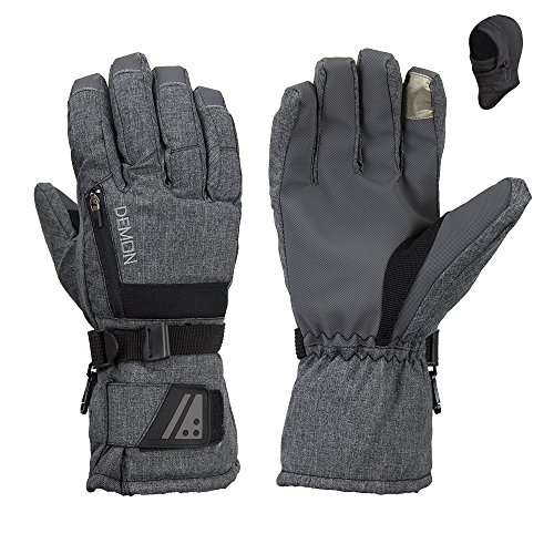 Demon Snowboard Touchscreen Gloves Balaclava