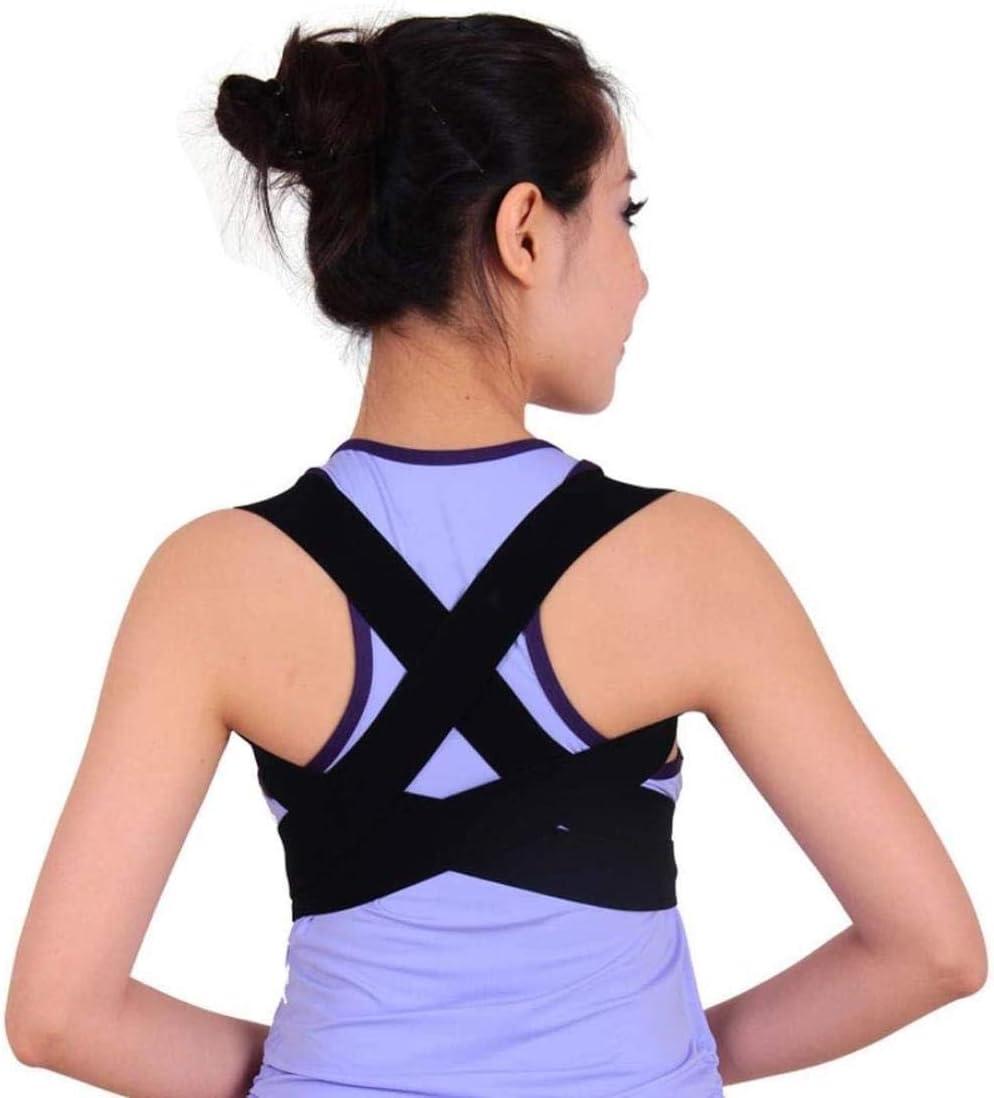 Soporte para la Espalda Corrección jorobada órtesis de Ortopedia con Ortopedia Ortopedia con espinal Corrector Correa Trasera (Size : Large)