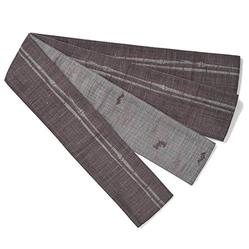 Reversible Kaku-obi (men's stiff sash) half & half, for sale  Delivered anywhere in Canada