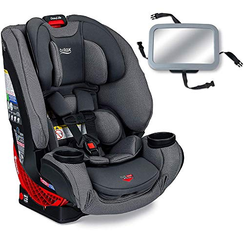 Britax One4Life Clicktight All-in-One Convertible Car Seat – Drift with Backseat Mirror