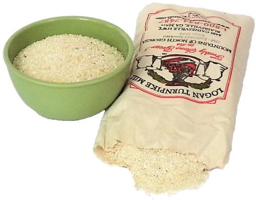 Logan Turnpike Mill, Stone Ground Speckled White Grits (2 pack) by Logan Turnpike Mill (Image #1)