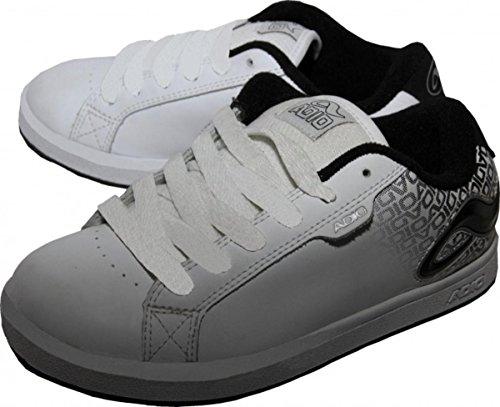 Adio Skateboard Schuhe Eugene Re 2 Kids White/Black