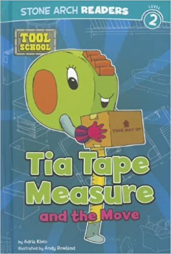 Book Tia Tape Measure and the Move (Tool School)