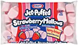 Jet Puffed Strawberry Marshmallows, 10-Ounce Bags(Pack of 6)