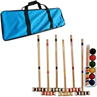 Trademark Global Croquet Set with Carrying Case