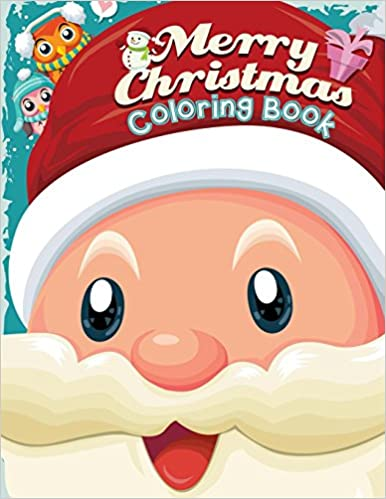 merry christmas coloring book christmas coloring book for toddlers kids great giftstocking stuffercountdown to christmas idea for boys girls