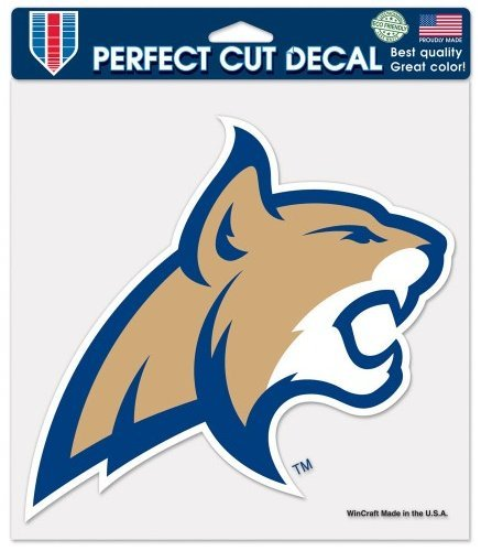 WinCraft NCAA Montana State Bobcats Perfect Cut Color Decal, Large/8 x 8, White